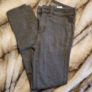 American Eagle High Rise Cotton Jegging Size 4